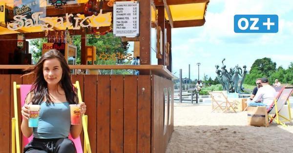 Was es mit der neuen Salsarico-Strandbar in der Rostocker Innenstadt auf sich hat