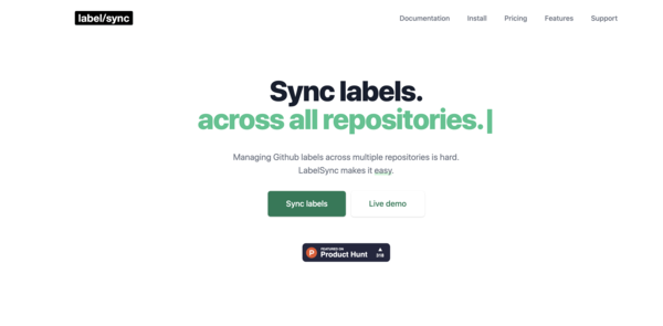GitHub LabelSync - The best way to sync labels