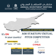 Cyprus Startup Virtual Pitch Competition - Invest Cyprus | Deadline: July 17th
