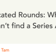 When You Can't Find a Series A Lead | Y Combinator