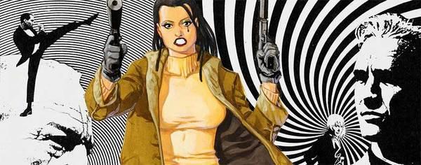 Dave Johnson - 100 Bullets Original Cover Art