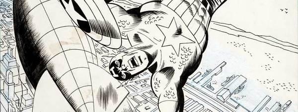 Sal Buscema - Captain America Original Comic Art