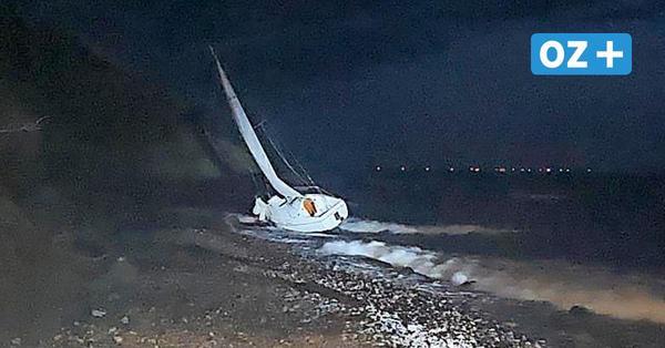 Schwer verletzt auf Hiddensee gestrandet: Segler trieb tagelang hilflos auf der Ostsee