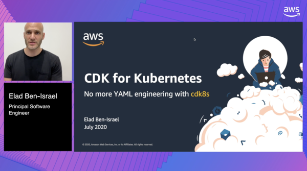 Cloud Container Conference - CDK for Kubernetes