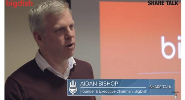 Aidan Bishop, Founding Director, BigDish PLC (DISH.L) Podcast