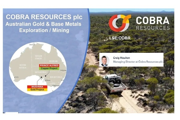Cobra Resources PLC (COBR.L) Stage 3 Geochemistry and Drilling Programme