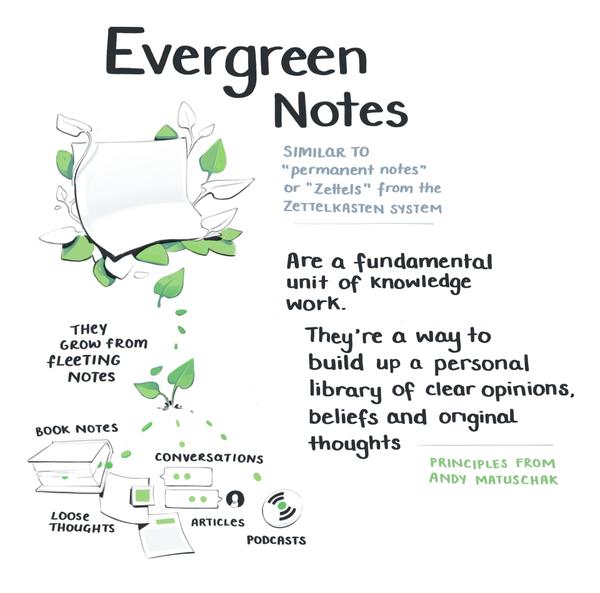 Maggie Appleton's evergreen note framework