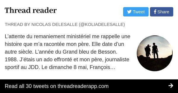 Thread by @KoliaDelesalle: