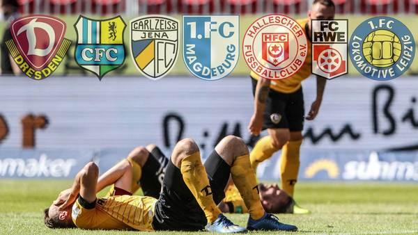 Abstiege, Enttäuschungen, Insolvenzen: Wie geht es mit dem Fußball im Osten weiter?