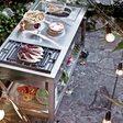 Draußen speisen: Outdoorküchen liegen voll im Trend