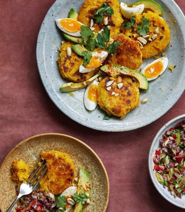 In Ghana: Yam mash, eggs, and salsa: Zoe Adjonyoh's west African recipes