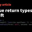 Opaque Return Types In Swift