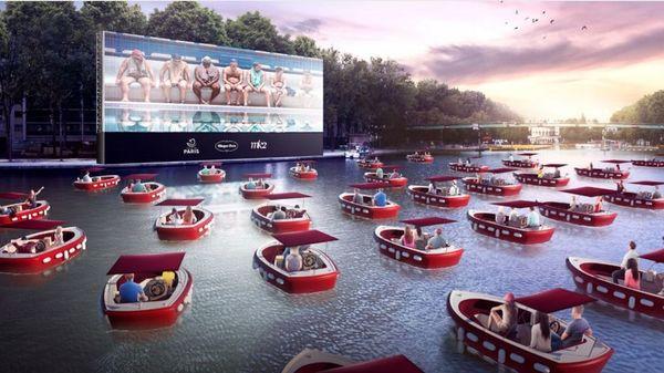 Paris Plages 2020 : une séance de cinéma sur l'eau à la Villette pour l'ouverture le 18 juillet | France Bleu