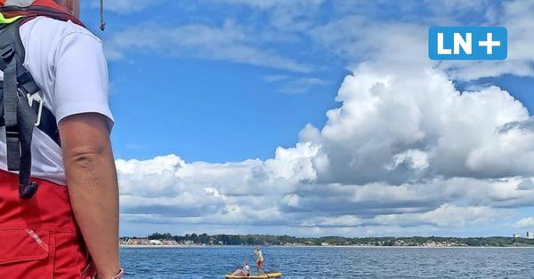 Haffkrug: Seenotretter retten Stand-up-Paddler aus der Ostsee