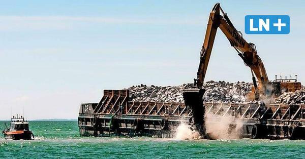Feste Fehmarnbeltquerung: Dänen bauen Molen für den Arbeitshafen