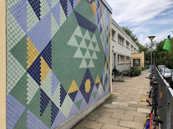 "Die Kita ""Froschkönig"" in der Straße Wall am Kiez. Foto: Peter Degener"