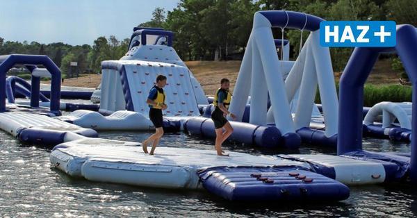 Das bietet der neue Aquapark auf dem Blauen See in Garbsen
