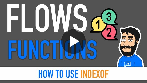 Power Automate Functions - IndexOf