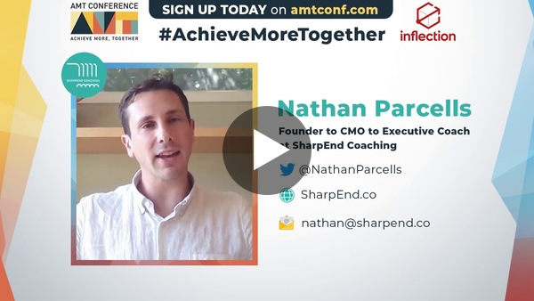 Strategies for Difficult Conversations - Nathan Parcells of Sharpend.co - #AMTConf