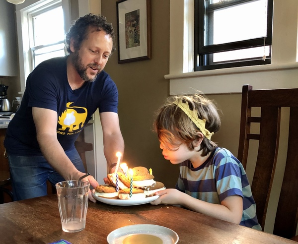 Our son recently celebrated his 8th birthday