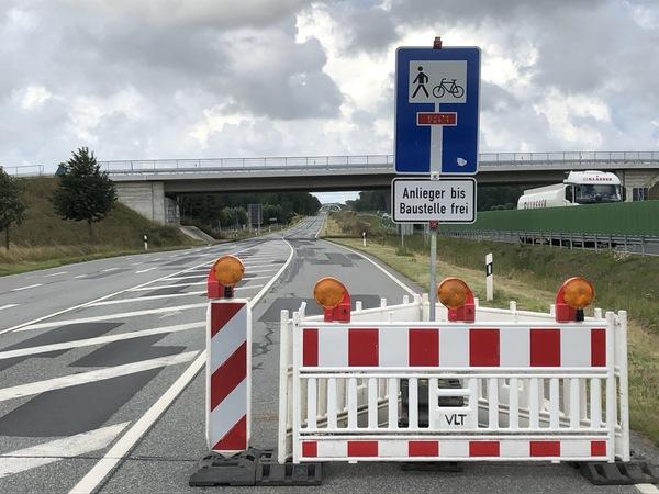 L 296 - Vollsperrung bis 2021 (Foto: Mathias Otto)
