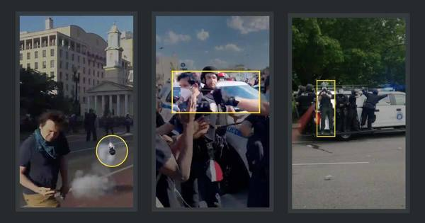 We Reviewed Police Tactics Seen in Nearly 400 Protest Videos. Here's What We Found.
