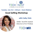 Tech Nest Goal Setting Workshop
