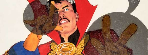 Carl Potts - Dr. Strange Original Cover Art