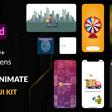 Free Auto-Animate UI Kit With 50+ Screens