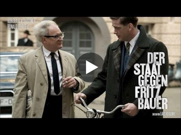 DER STAAT GEGEN FRITZ BAUER - offizieller Trailer HD