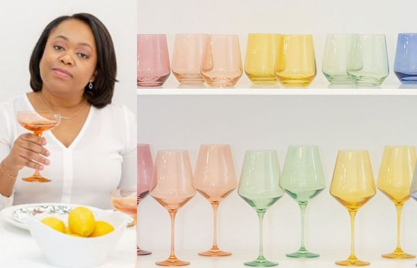 This Black-owned brand has the most Instagrammable wine glasses for your home