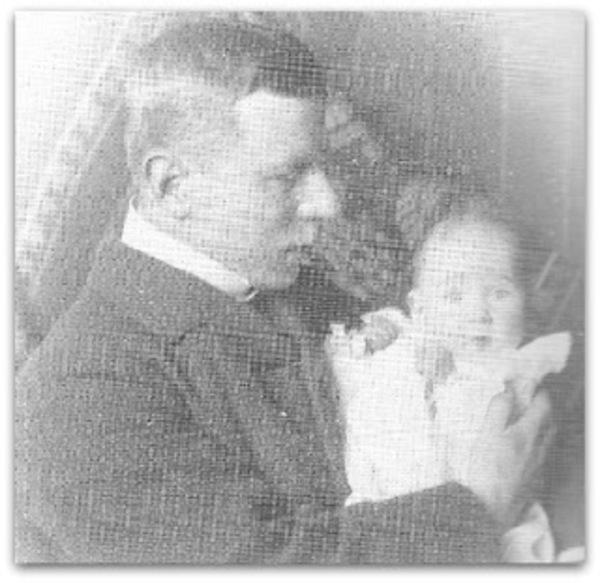 De schilder met zijn dochter Sigrid