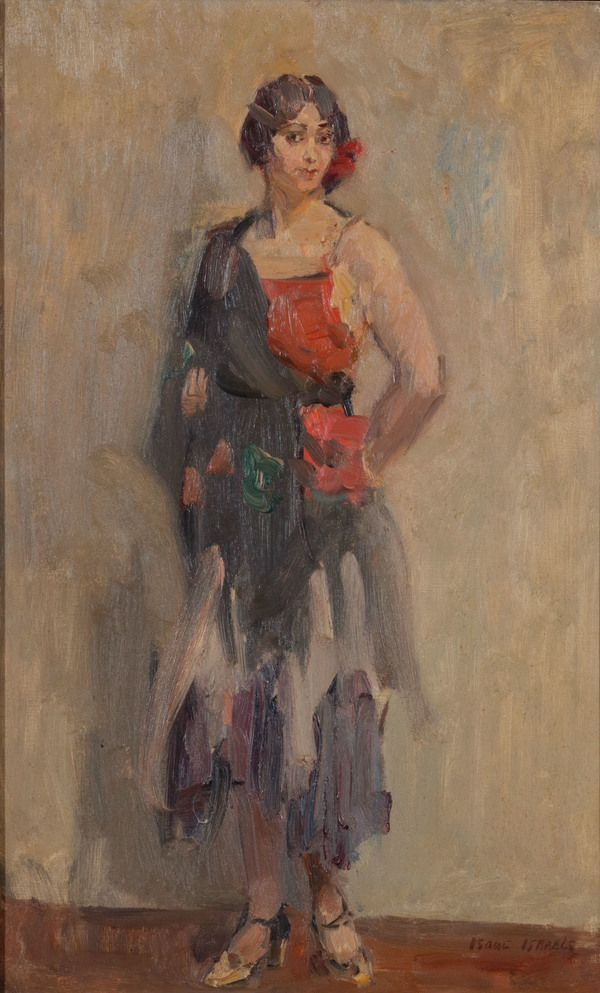 ISAAC ISRAELS (DUTCH, 1865-1934), Standing girl | Christie's