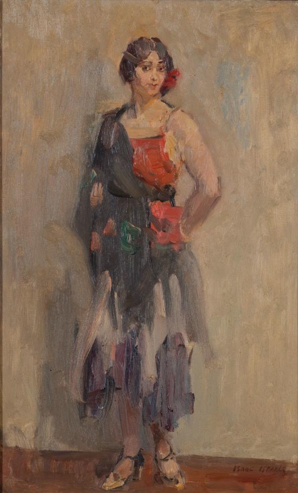 ISAAC ISRAELS (DUTCH, 1865-1934), Standing girl | Christie's