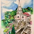 The person behind the viral painting of St Anne Church Pali Hill