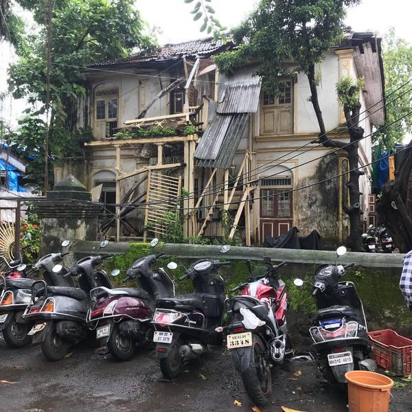 An discredit house at Waroda Road