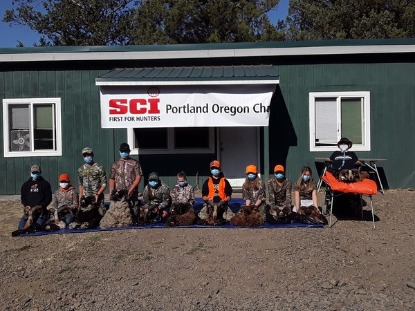 Portland Chapter hosts Youth Hunt