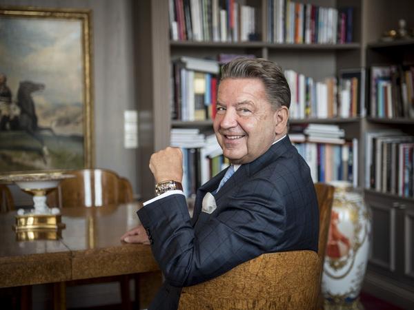 Der Berliner Bankier und Inhaber von KPM - Jörg Woltmann - hat eine starke Verbindung zu Potsdam. Foto: Holger Talinski