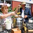Kochen im Freien: Potsdamer können mobile Küche ausleihen
