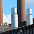 Neue Türme fürs VW-Kraftwerk: Die Schlote wachsen langsam empor...