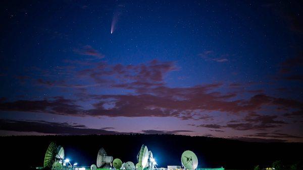 Komet Neowise: Am Donnerstag ist der der Erde am nächsten