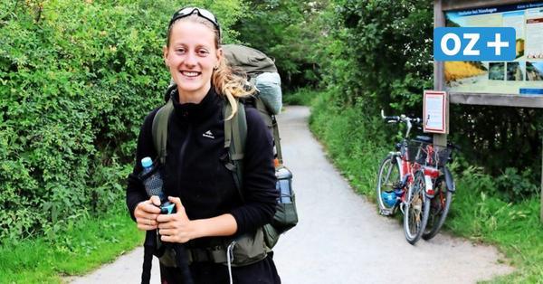 Schweizerin wandert von Lübeck nach Polen: Das sagt sie über ihre Strecke durch MV