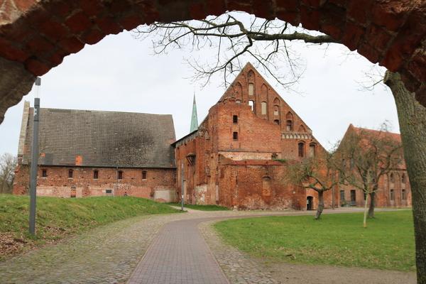 Klostergelände (Foto: Aja Levien)