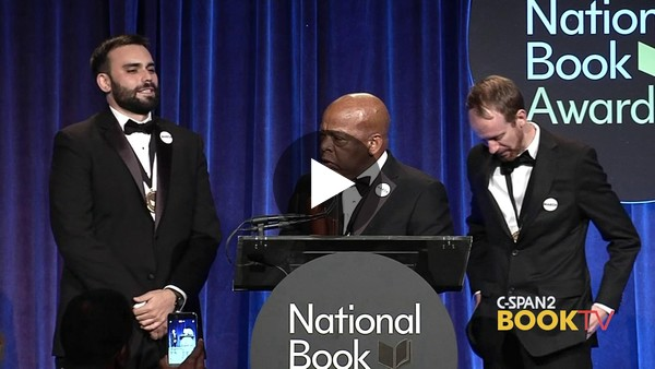 In case you haven't seen this video, here's John Lewis emotionally accepting the 2016 National Book Award for Young People's Literature. Reading may not be a direct line to justice, but it's certainly part of the path. (2 min)