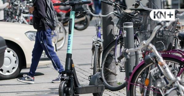 Strafzettel für vier E-Scooter auf der Gablenzbrücke