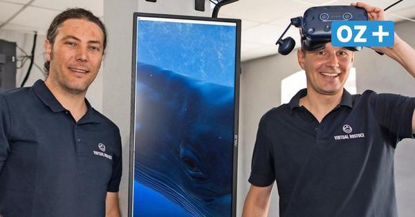 Virtual Reality in Rostock: Hier können Sie mit Walen tauchen