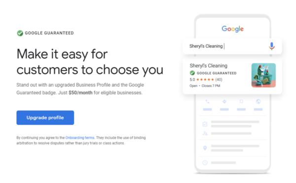 Google bietet Upgrade-Label für My Business-Einträge an - 50 US-Dollar pro Monat - SEO Südwest