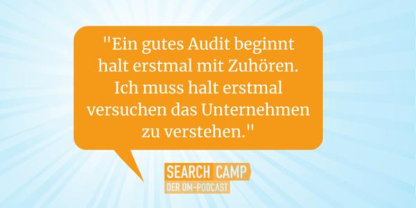 Der SEO-Audit: Tipps, Tricks und Tools [Search Camp Episode 137]