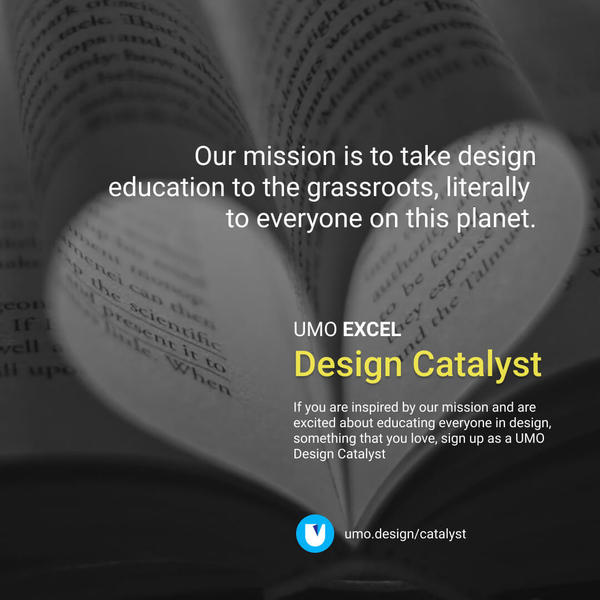 Become a Design Catalyst! Read more - https://www.umo.design/catalyst/