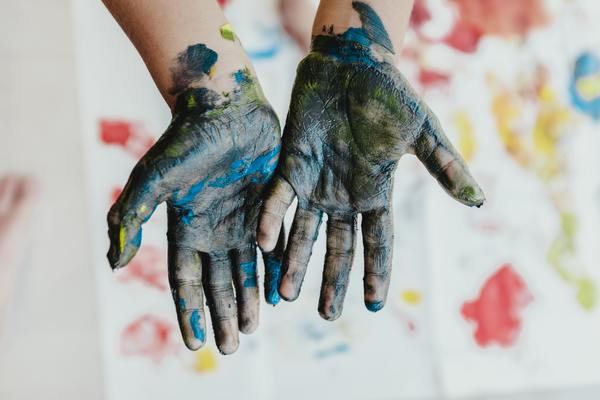 When you're properly living a life, your hands are going to get a bit dirty.
